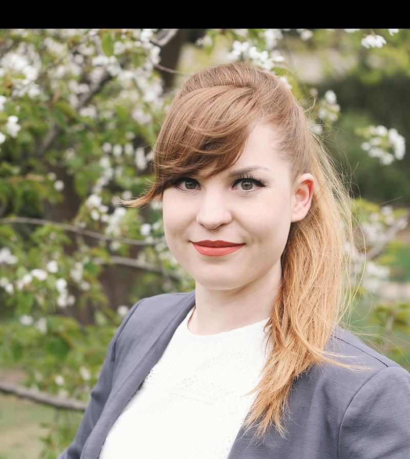 Christin Stelzer, Teamleiterin, Fotografie von Josefine Rahn,